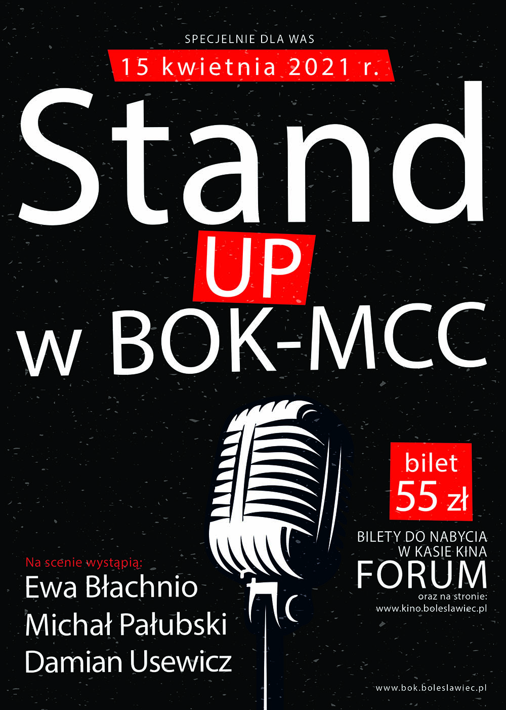 Stand Up - NOWY TERMIN!